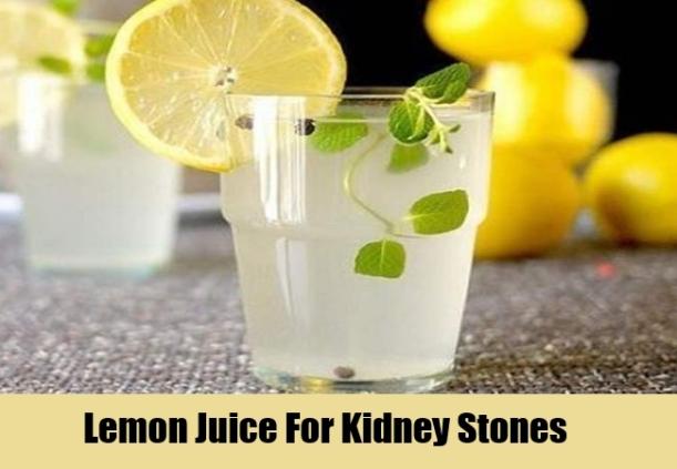 Lemon-Juice-For-Kidney-Stones